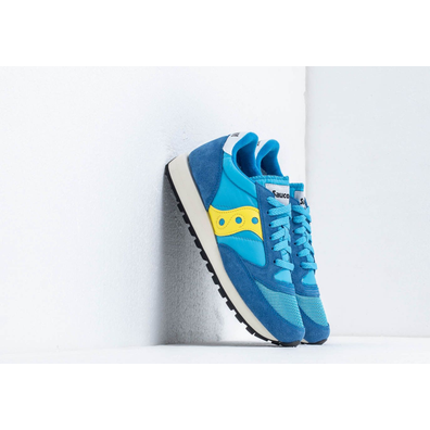Saucony Jazz Original Vintage Blue/ Yellow productafbeelding