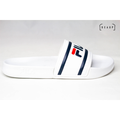 Fila Morro Bay Slipper 'White / Fila Red Navy' productafbeelding