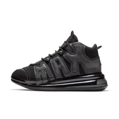 Nike Air More Uptempo 720 'Triple Black' productafbeelding