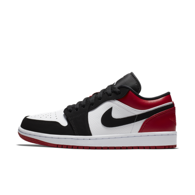 finest selection bfd2e 8bb2c Air Jordan 1 Low  Black Toe