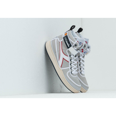 Diadora x LC23 Mi Basket Sailing Nylon Silver Metalized productafbeelding