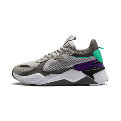 Puma RS-X TRACKS Gray Violet-Charcoal Gray productafbeelding