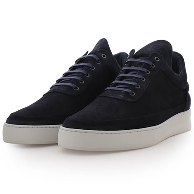 Filling Pieces Low Top Plain Cape Suede productafbeelding