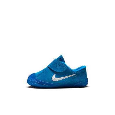 Nike Waffle 1 Bootie baby's/peuters - Blauw productafbeelding