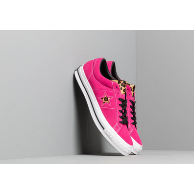 Converse One Star Active Fuchsia/ White/ Black productafbeelding