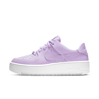 Nike Air Force 1 Sage Low 'Oxygen Purple' productafbeelding