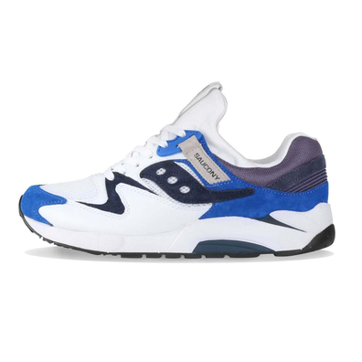 Saucony Grid 9000 White / Blue productafbeelding