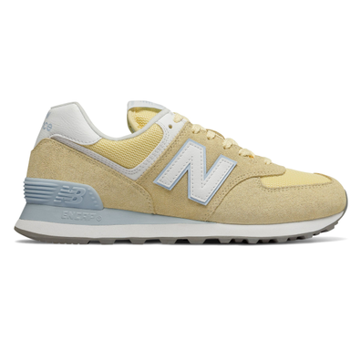 New Balance 574 Yellow/ White productafbeelding