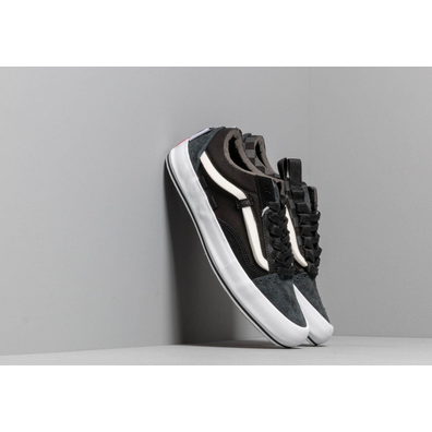 Vans Old Skool Cap LX (Regrind) Black/ True White productafbeelding
