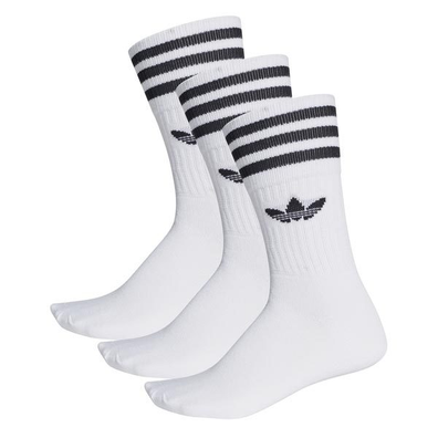 adidas Solid Crew Sock Wit productafbeelding
