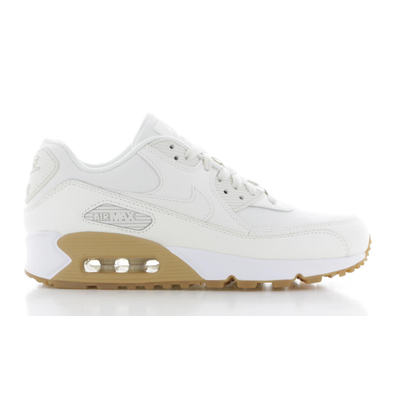 Nike Nike Air Max 90 Premium Crème/Wit Dames productafbeelding
