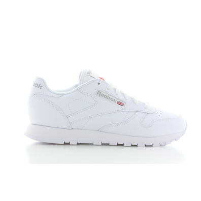 Reebok Classic Leather Wit/Wit Dames productafbeelding