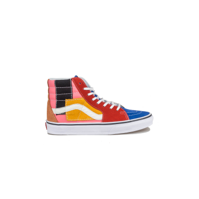 Vans Sk8-Hi Patchwork Multi / True White productafbeelding