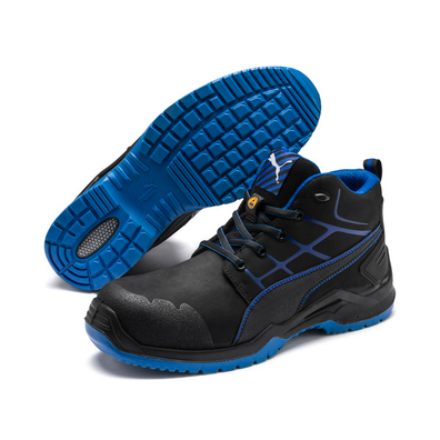 Puma Safety Shoes Krypton Blue Mid productafbeelding