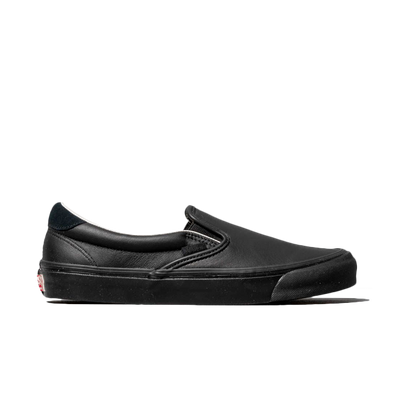Vans OG Slip-On 59 LX (Leather/ Suede) Black productafbeelding