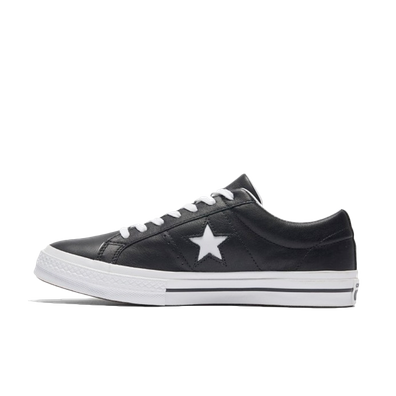 Converse One Star Black productafbeelding