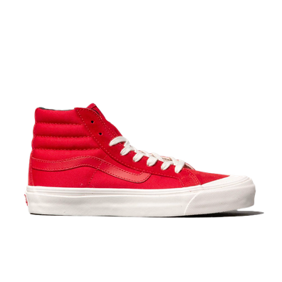 Vans OG Style 138 LX (Suede/ Canvas) Racing Red productafbeelding