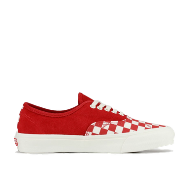 Vans OG Authentic LX (Suede/ Canvas) Racing Red productafbeelding