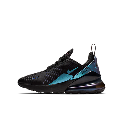 Nike Air Max 270 (GS) Black/ Laser Fuchsia-Regency Purple productafbeelding