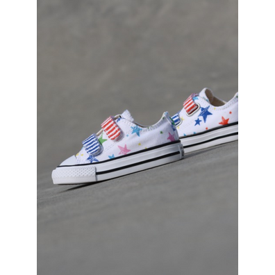 Converse Ox 2c White Stars/Colors TS productafbeelding