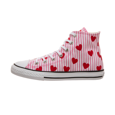 Converse Chuck Hi Striped/Hearts PS productafbeelding