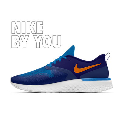 Nike Odyssey React 2 Flyknit - By You productafbeelding