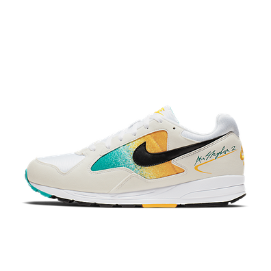 Nike Air Skylon II (White / Black - University Gold - Spirit Teal) productafbeelding