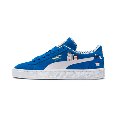 Puma Sesame Street 50 Youth Suede Sneakers productafbeelding