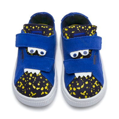 Puma Suede Deconstructed Monster Kids Sneakers productafbeelding