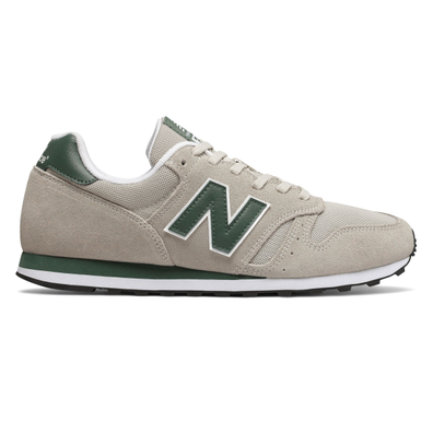 New Balance 373 Grey/ Green productafbeelding