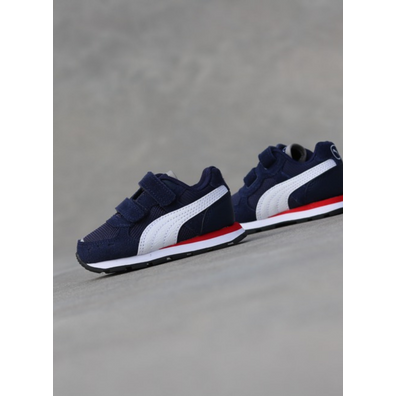 Puma Vista Runner Peacoat/Red TS productafbeelding