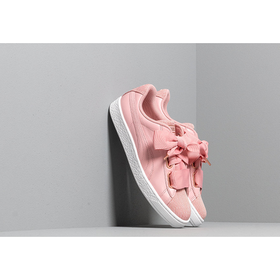 Puma Basket Heart Woven Rose Wn s Bridal Rose-Puma White productafbeelding