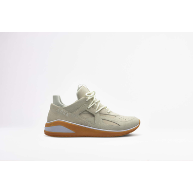 Arkk Solianze Suede F-G2 Off White Light Gum productafbeelding