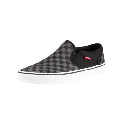 Vans Asher Checkers Slip On Trainers productafbeelding