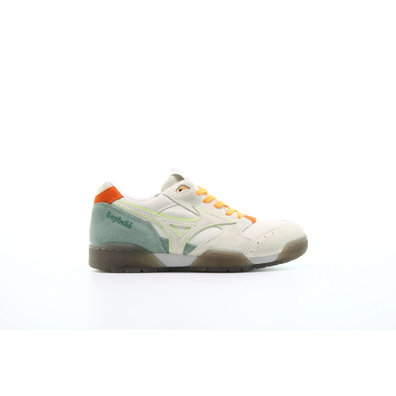 "Mizuno x Sayhello Court Select ""Whisper White"" productafbeelding"