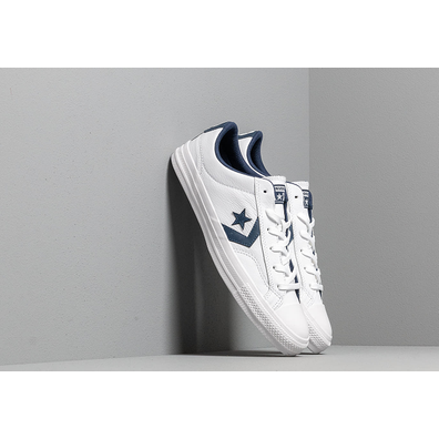 Converse Star Player White/ Navy/ White productafbeelding