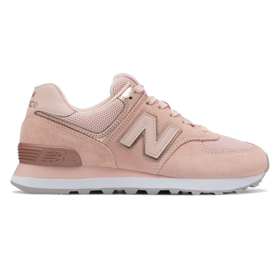 New Balance WL574MEC (Oyster Pink) productafbeelding