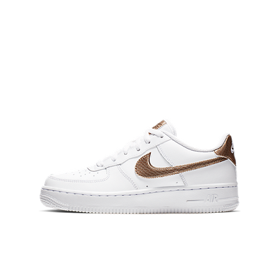 Damen Sneaker Air Force 1 EP GS White Gold productafbeelding