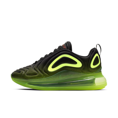 Nike Air Max 720 BG 'Black Volt' productafbeelding