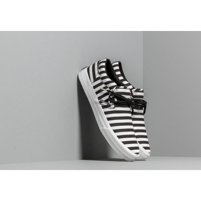 Supra Cuba Black/ White Stripe productafbeelding