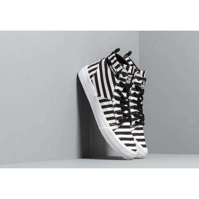 Supra Stacks Mid Black/ White Stripe productafbeelding