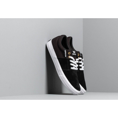 Supra Stacks Vulc II Black/ Black/ White productafbeelding