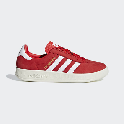 adidas Trimm Trab (Active Red / Ftwr White / Gold Metallic) productafbeelding