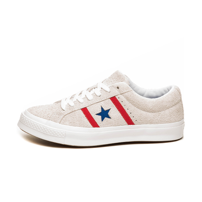 Converse One Star Academy OX (White / Enamel Red / Blue) productafbeelding
