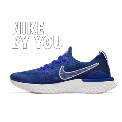 Nike Epic React Flyknit 2 Chelsea - By You productafbeelding