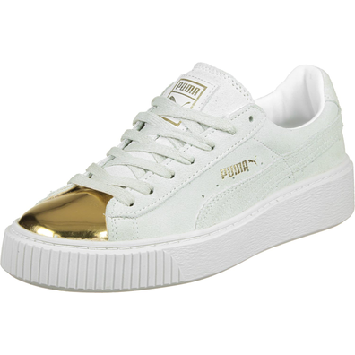 Puma Suede Platform Gold W productafbeelding
