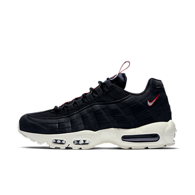 Nike Air Max 95 Tt, Black/Sail-Gym Red productafbeelding