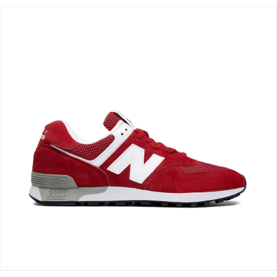 New Balance M576RR - Scarlet Red - Made In UK productafbeelding