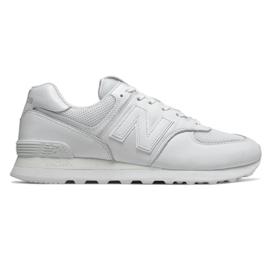 New Balance 574 Leather Trainers productafbeelding