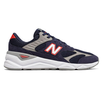 New Balance X-90 Suede Trainers productafbeelding